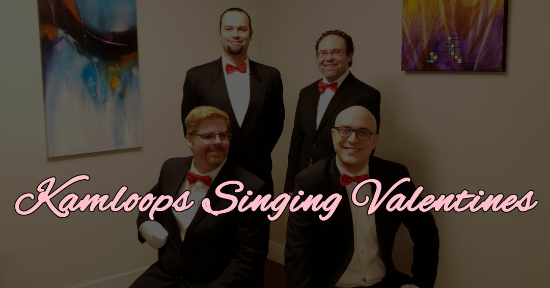 Announcing our 2nd annual Singing Valentine Fundraiser